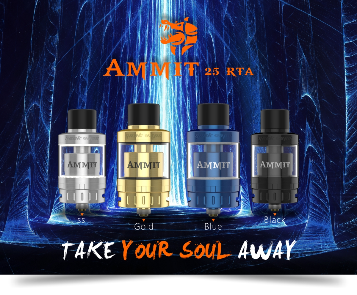 AMMIT 25 rta banner four colors