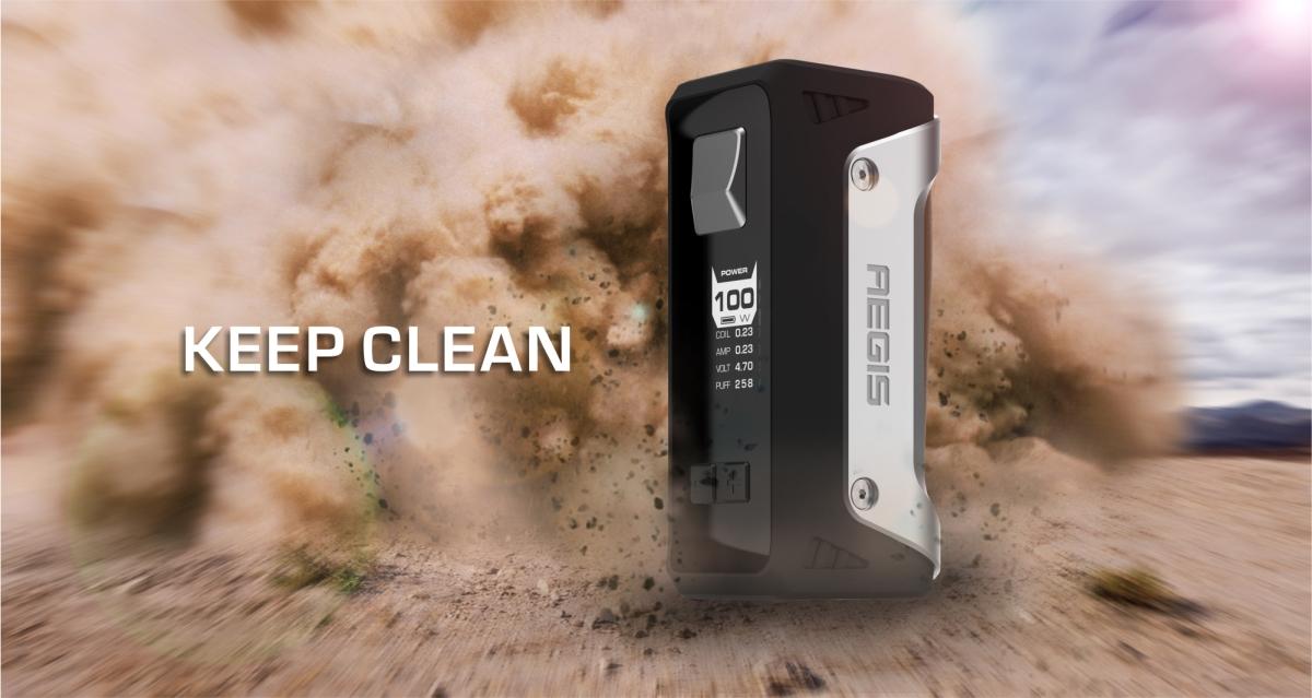 Geekvape Aegis dust proof
