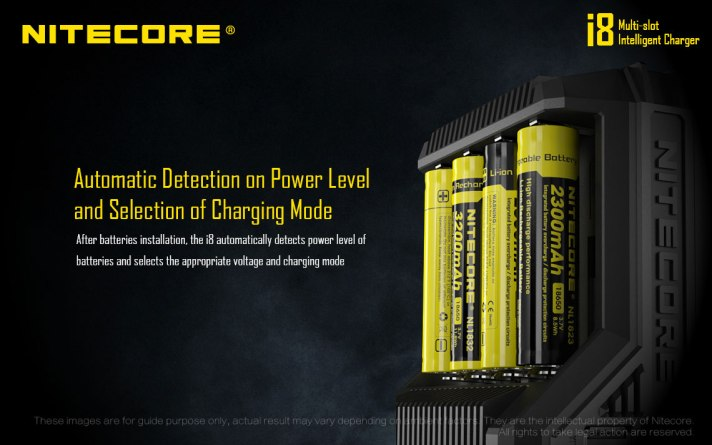 Automatic Detection on Power Level and Selection of Charging Mode
